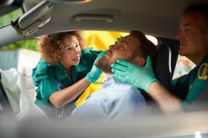 car crash medics