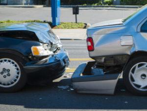 rear-end car crashes